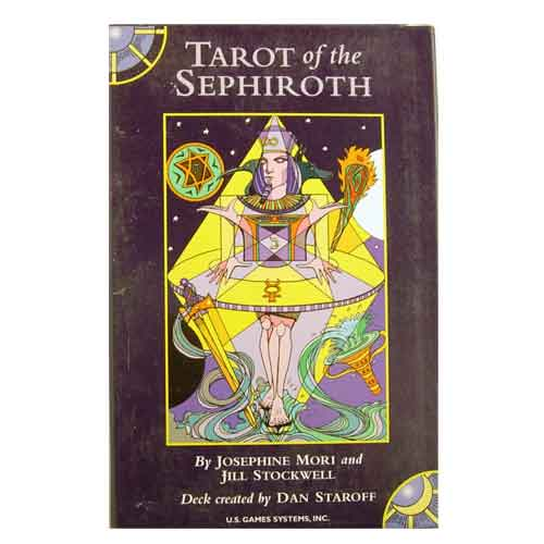 tarot of the sephiroth pas cher sur boutique esoterique. Black Bedroom Furniture Sets. Home Design Ideas